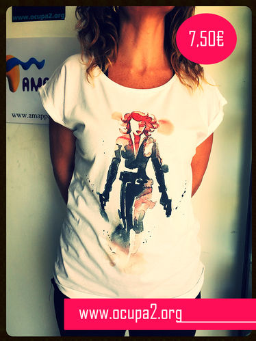 CAMISETA SUPER HEROINA
